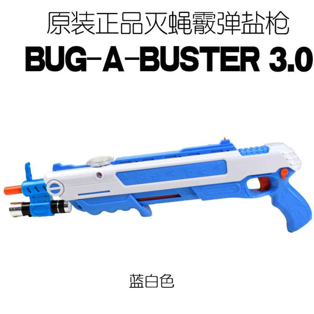 Salz Gun BUG-A-BUSTER 2,0 3,0 Fly Pistole Schrotflinte Fly Pistole Originalität Spielzeug Pistole Wasser Motor-angetrieben Spielzeug Küche Werkzeuge