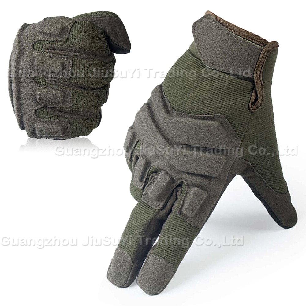Black leather combat gloves - Blackhawk Touch Screen Tactical Gloves Military Airsoft Paintball Army Military Combat Bicycle Full Finger Gloves