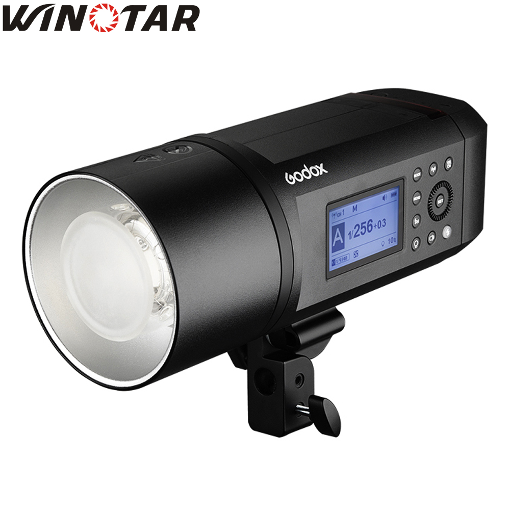 In Stock <font><b>Godox</b></font> AD600Pro WITSTRO <font><b>AD600</b></font> <font><b>Pro</b></font> Portable Outdoor Flash 1/8000s TTL HSS Built-in X System Li-on Battery Bowens Mount image