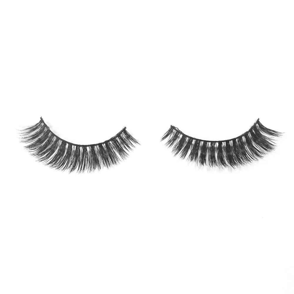 53594820e33 ... VVHUDA Lashes False Eyelashes Fake Mink Natural 3D Crossed Handmade  Upper Light Thick Eye Make Up ...