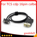 16 pin  red LED main cable Suitable for tcs scanner cdp pro plus ds150e ds150 product OBD2 auto cable obd 16pin testing cable
