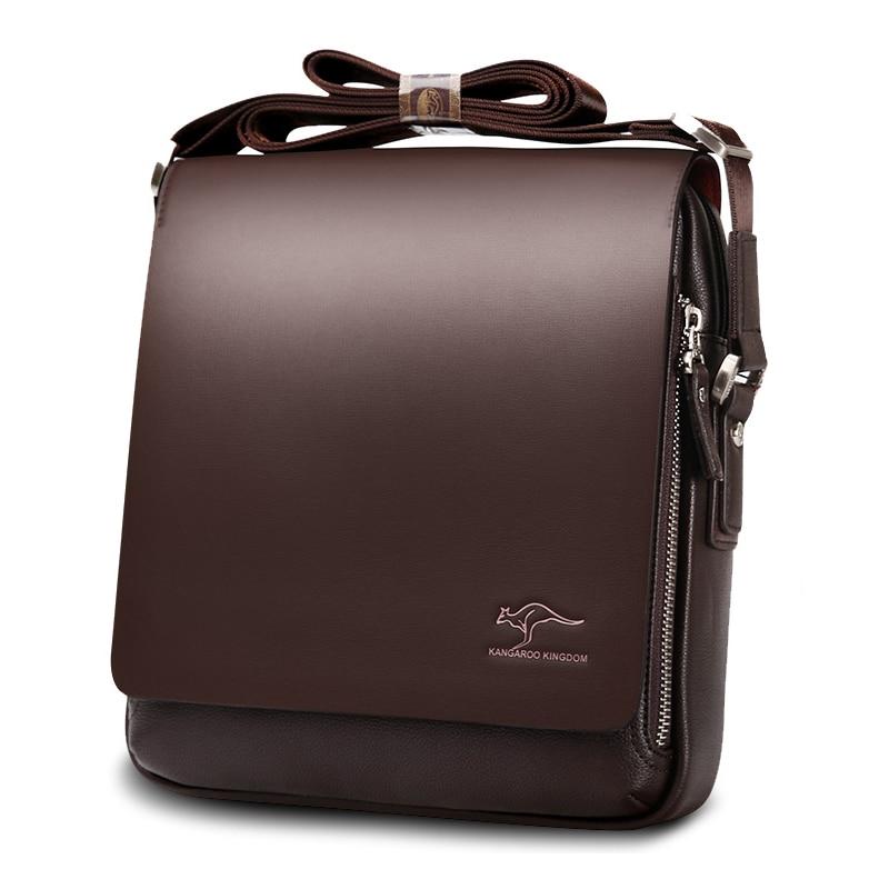 Mens Messenger Bag Vintage Leather Shoulder Bag For Men Handsome Casual Crossbody Bag Male Handbags