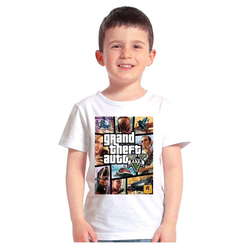 Gorące chłopcy dziewczęta T koszula 1 gta T koszula gta  Fb6eO