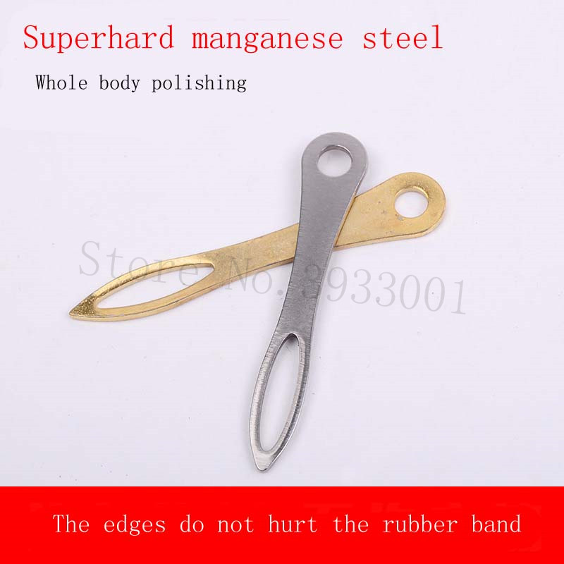 Rubber Band Assistant Manganese Steel Eight Card Ball Assembler Tying Tool Tool Band Group 8 Buckle
