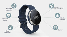 Оригинальный уви смарт-браслет Pro сердечного ритма Мониторы Water Proof смарт-браслет сообщение напоминание Смарт часы напоминание