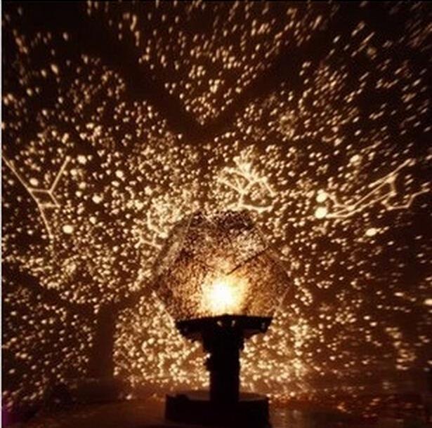 Creative Romantic Sky Map Projector Astro Star Laser Night Light ...