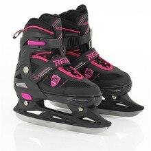 Коньки для коньков, обувь для трюков, для взрослых и детей, регулируемые коньки с шариковым лезвием, скоростные коньки, коньки для хоккея, нож для катания на коньках, спортивные, ID13