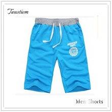 Taustiem Brand Fashion Casual Home Shorts Male Cotton Motion Slacks Shorts Man Fitness Exercise Short Men Knee Length Sweatpants
