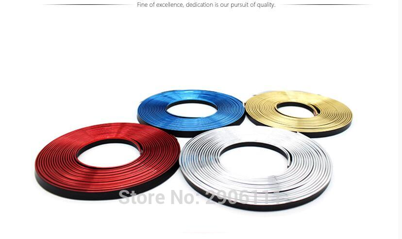 5M Car Styling Internal Decoration Moulding Trim Strips Line for BMW e46 e90 e39 f30 f10 e36 e60 x5 e53 f20 e34 DIY Stickers