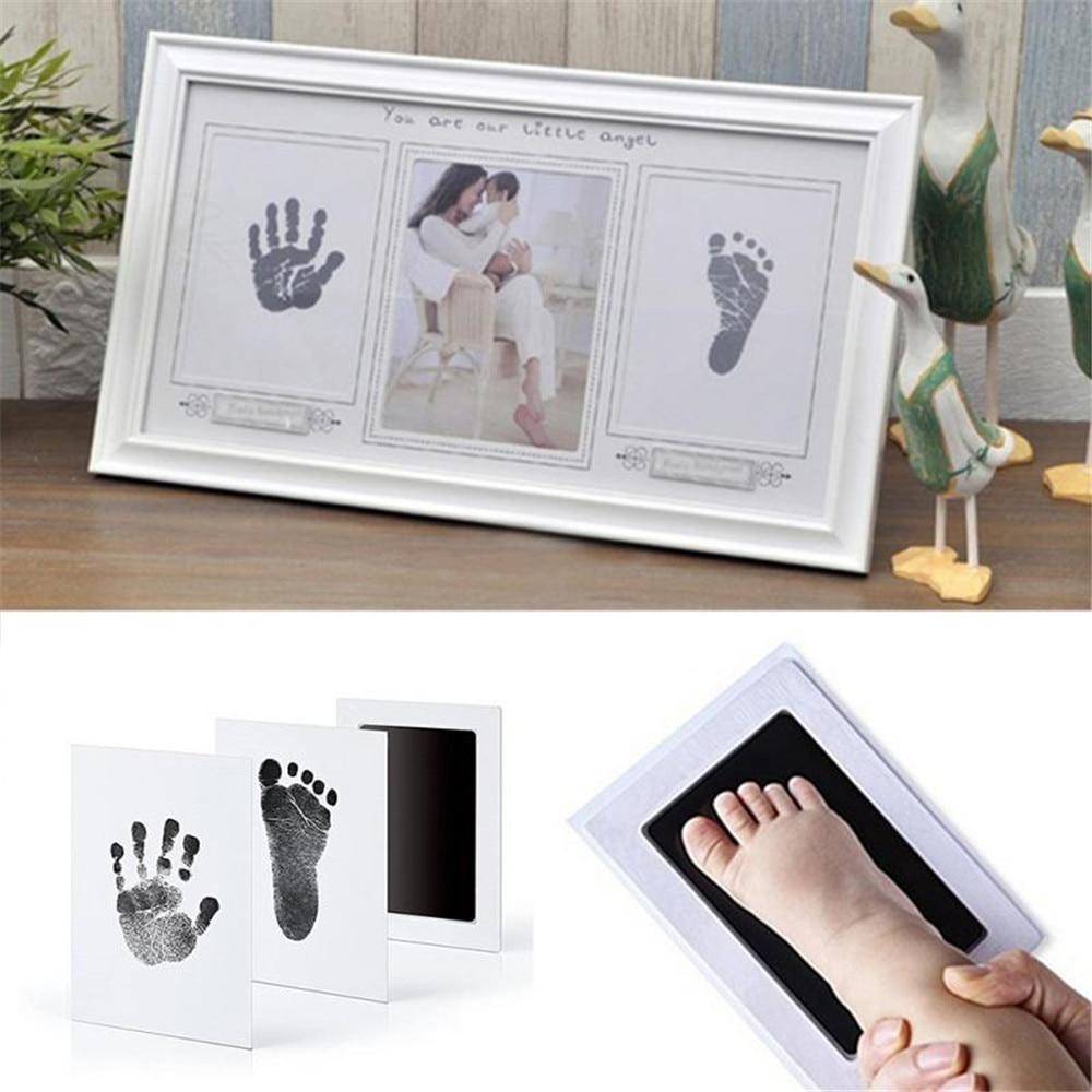 Hand Footprint Makers Newborn Footprint Ink Pad Handprint Non-Toxic Clean-Touch Pearhead Inkless Keepsake Treasure Memories