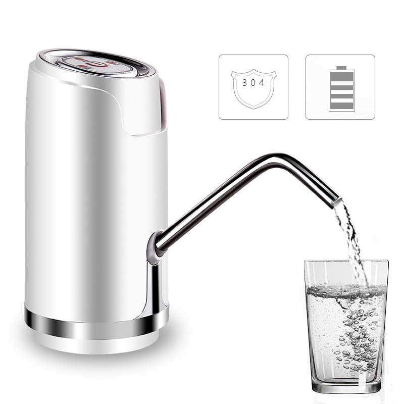 все цены на Electric Water Bottle Pump Dispenser With Suction Unit Bottled USB Water Dispenser For Drinking Water Bottles Home Gadgets