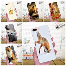Special Luxury Phone Case For Galaxy A3 A5 A7 On5 On7 2015 2016 2017 Grand Alpha G850 Core2 Prime S2 I9082 Fox Animal(China)