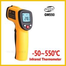 Benetech Non contact Ir Infrarood Digitale Temperatuur Gun Thermometer  50 ~ 550C ( 58 ~ 1022F) 0.95 12:1 Lcd GM550 BENETECH