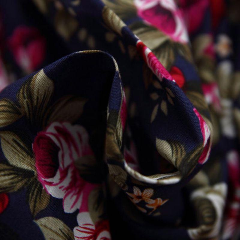 Princess-Girl-Flower-Pattern-Print-Dress-Full-Sleeve-with-Sashes-Cute-Baby-Girls-Dress-5