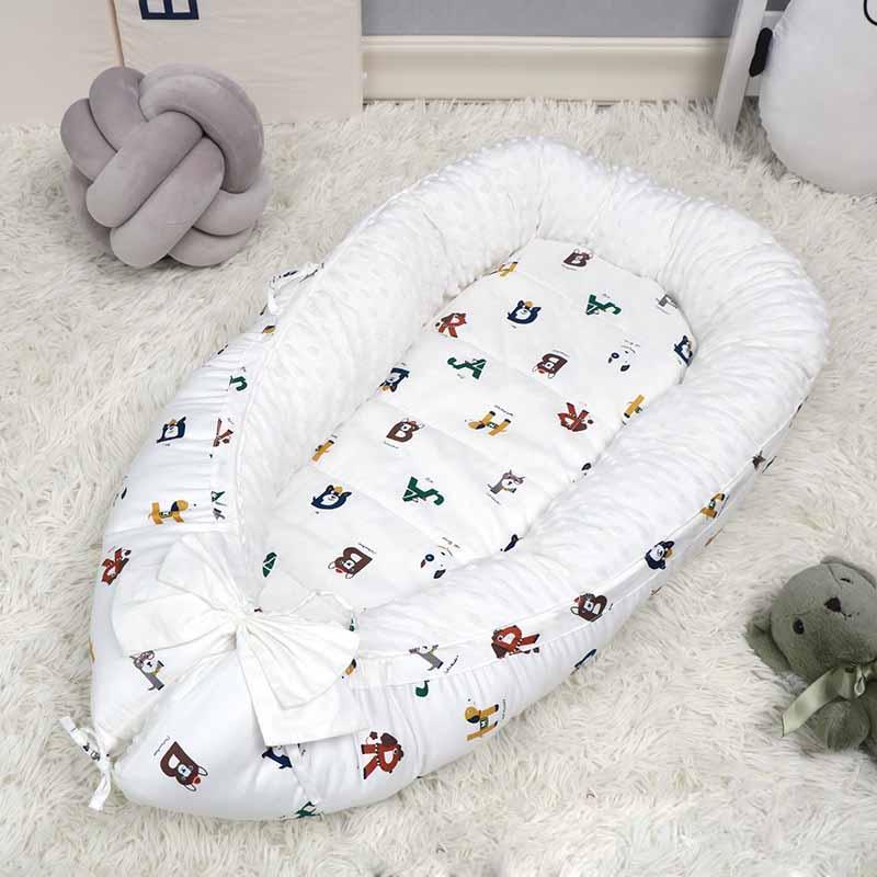 Lounger White, Small Classic Edition Mattress Pad Crib Cuddler Newborn Sleep Positioner