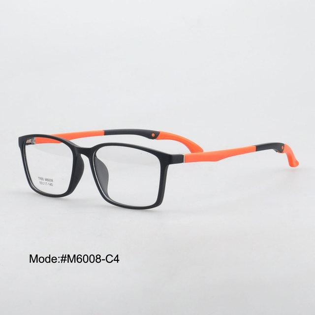Big sale M6008 esporte TR de alta qualidade aro completo óptico para unisex miopia prescrição optical armação de óculos óculos