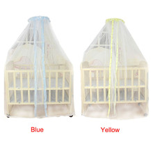 Happy Sales Factory Price Summer Baby Bed Mosquito Mesh Dome shaped Curtain Net for Toddler Crib Cot Canopy Aug25(China)