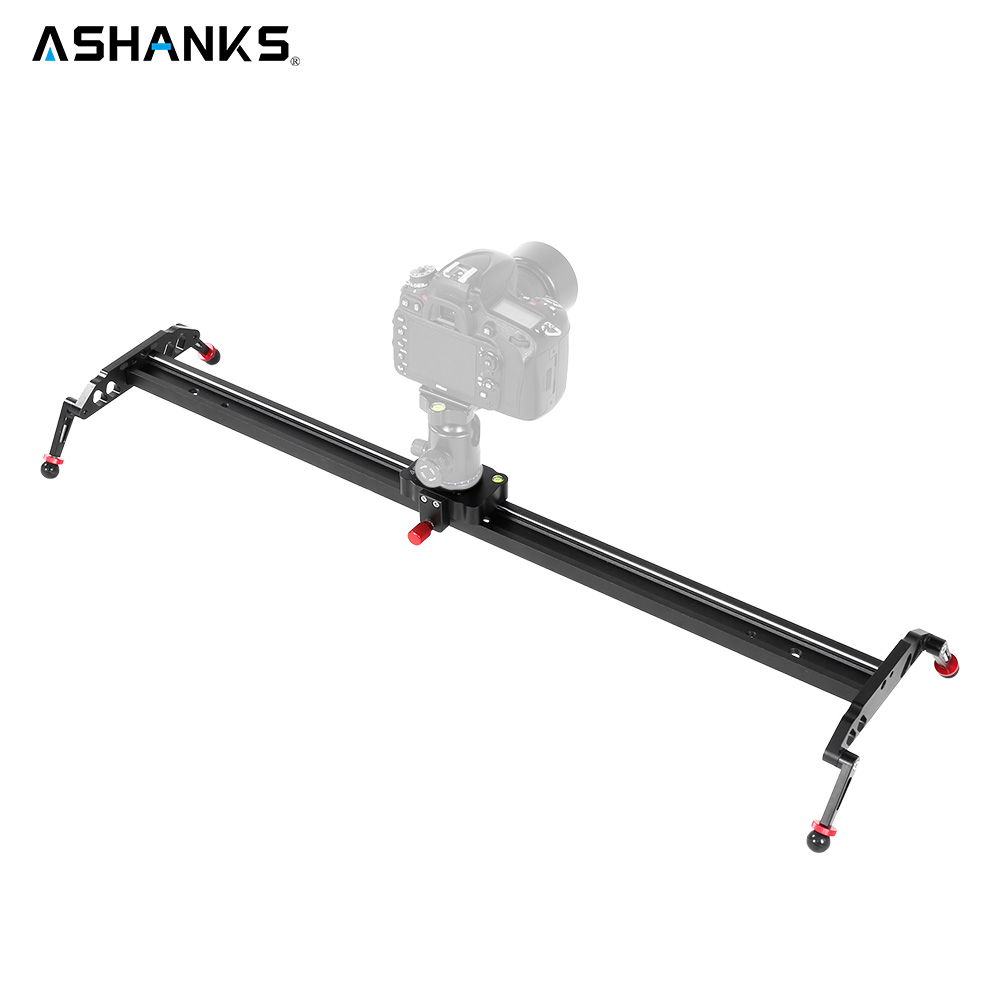 ASHANKS Ball Bearings Camera Slider Aluminum Alloy DV Slider Damp Track Video Stabilizer Rail Track Slider For DSLR or Camcorder professional 7005 aluminum alloy tube clap long track ice blade 64hrc high quality dislocation skate shoes knife 1 1mm frame