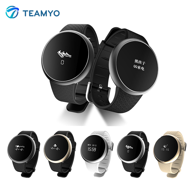 TEAMYO Men Smart Wrist Band Watch A98 Blood Pressure Oxygen Monitor Heart Rate Bracelet Wristband Smartband For iOS Andrioid