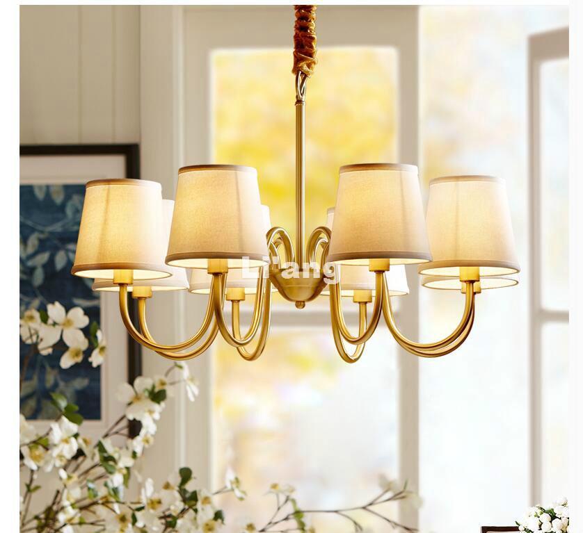 New Arrival Nordic Pendant Lamp Vintage Restaurant Bar Cafe Hanging Lamp Creative Living Room LED Fabric Lampshade Pendant Light nordic wrought iron creative pendant light dia 42cm carved flower shade restaurant cafe clothing shop living room hanging lamp