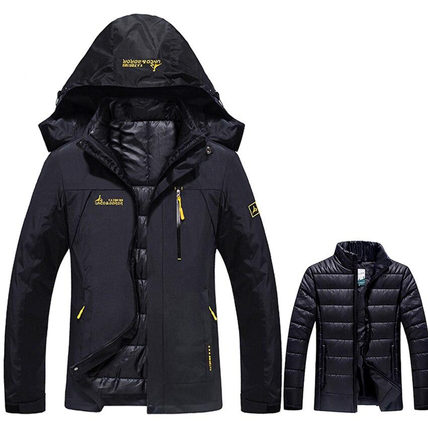 Hiver 2 pièces femmes vestes de plein air Sport imperméable coton rembourré manteaux chaud randonnée Ski Camping femme marque veste VB067