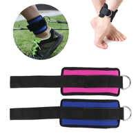 1 Pcs D-Ring Ankle Anker Strap Gürtel Multi Gym Kabel Befestigung Oberschenkel Bein Riemenscheibe Hebe Fitness Übung ausbildung Werkzeug