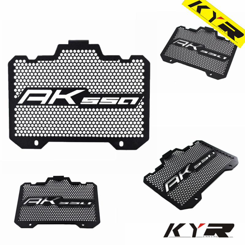 Motorcycle Radiator Grille Guard Grill Cover Protector For KYMCO AK550 2017-2018