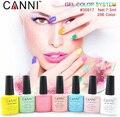 CANNI Colorful Gel Polish  Soak Off UV LED Glitter Nail Art Tips Manicure 7.3ml Color 62-76