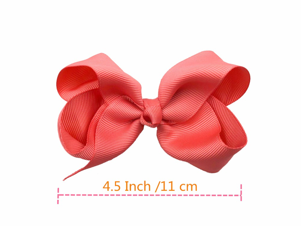 40 Girls Large Ribbon Hair Bows for Toddlers Kids Girls hair  Clips Accessories