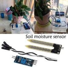 Модуль обнаружения влажности с датчиком воды электронный измеритель