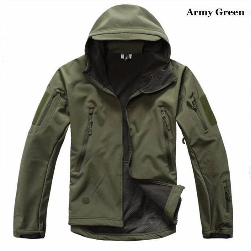 2017 Jacke Männer Hohe Qualität Lurker Shark Haut Soft Shell Tad V 4,0 Military Jacke Wasserdicht Windjacke Mantel