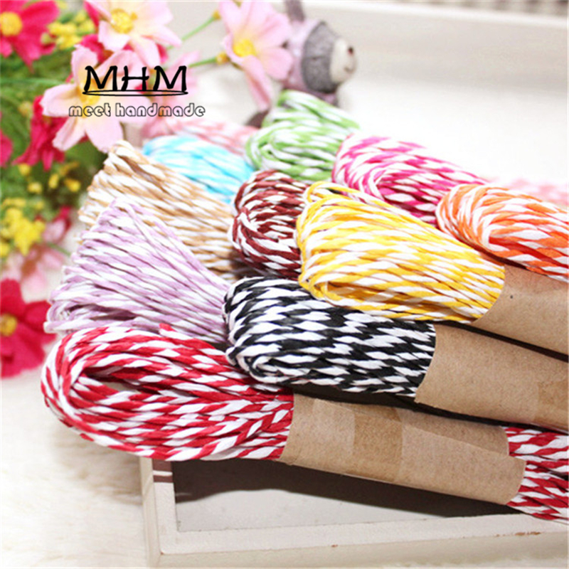 Hot !! DIY Natural Sisal Twine 2mm Wedding Decorations Twisted Jute Rope String Macrame Cord Christmas Supplies 10 Meter