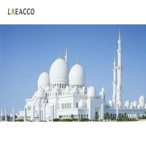 Image 5 - Laeacco Muslimischen Moschee landschaft Architektur Porträt Szene Fotografischen Hintergrund Vinyl Fotografie Foto Studio Hintergrund Wand