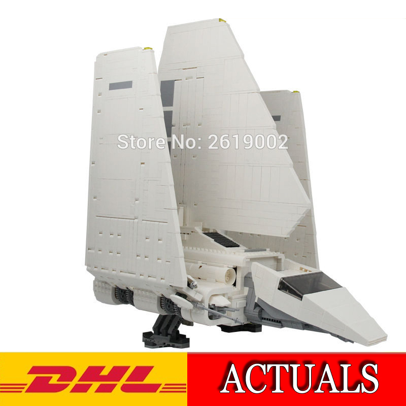 2018 New 2503Pcs Star Wars Imperial Shuttle Model Building Kit Blocks Bricks Educational Compatible Children Toy