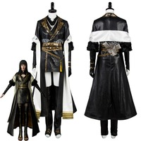 Final Fantasy XV FF15 Gentiana Cosplay Costume Outfit Full Set Custom Made