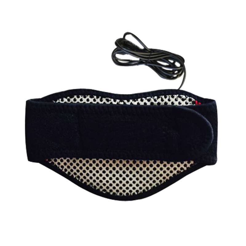 Usb Electric Heating Massage Belt Cervical Spine Care Self Hot Neck Warm Men Women Electronic Joint Therapy 2017 household electric neck support device cervical physical therapy heated vibration cervical spine heating health care