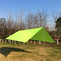 Garden Sun Shade Sail Waterproof Polyester Cloth Square Outdoor Camping Hiking Yard Garden Shelters Canopies Carport Awnings