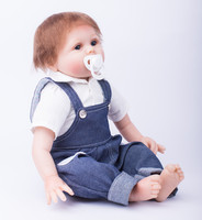 Boy Baby Doll With Handmade Clothes