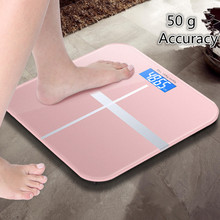 180kg/50g Household Scale Mini Smart Electronic Bathroom Digital Body Bariatric Floor LCD HD Display Weight Measurement Tool
