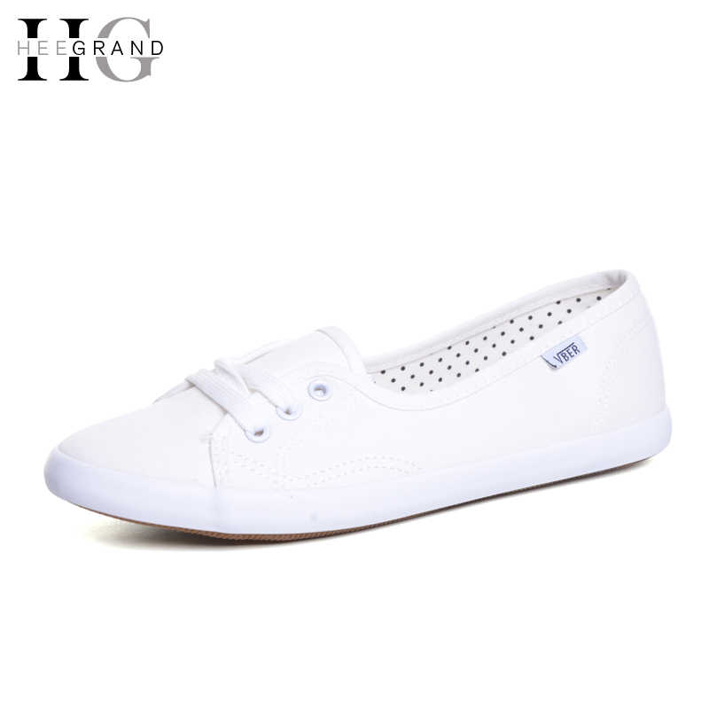 HEE GRAND แบนทำงานผู้หญิง Vulcanized รองเท้าฤดูร้อน Lace-up Espadrilles Loafers Creepers Femininos Mujer XWD3417