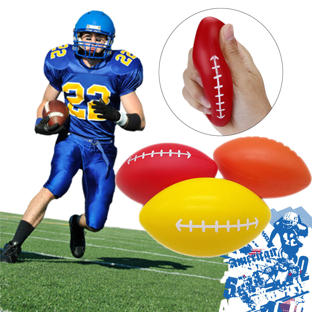 Decompression Rugby Scented Funny Slow Rising Press Toys Stress Relief Soft Toy Antistress Kids Toys Squish 2019 W514