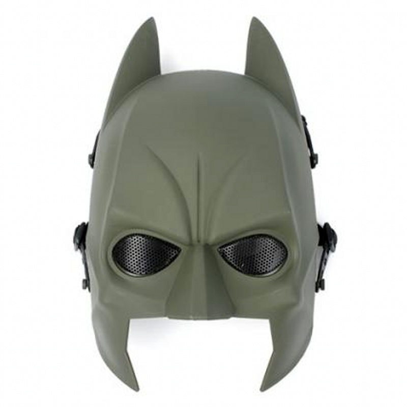 DC09 Batman Military Tactical Skull Full Face Airsoft Mask Army Hunting Paintball Wargame Cosplay Halloween Party Protector