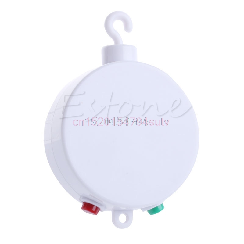 35 Songs Rotary Baby Mobile Crib Bed Toy Music Box Movement Bell Nursery & SD #H055#