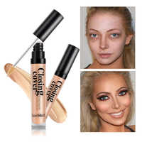 loumesi concealer Liquid Concealer Eye Contour Concealer Cream Face Base Makeup Corrector Foundation Primer Makeup 10ml