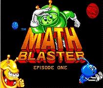 Math Blaster 16 bit MD Game Card For Sega Mega Drive For Genesis