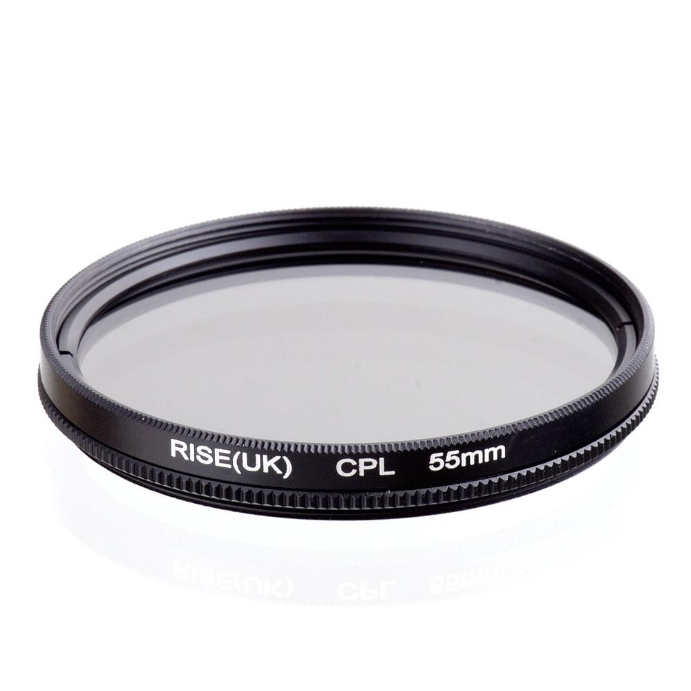 RISE(UK) 55mm Circular Polarizing CPL C PL Filter Lens 55mm For Canon NIKON Sony Olympus Camera|filter lens|filter lens 55mmlens 55mm - AliExpress