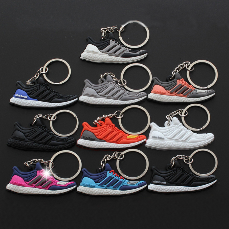 10Pcs/Lots Fashion Ultra Boost Pendat Key Chain Sneaker Keychain Mini Kids Pendant Anime ...