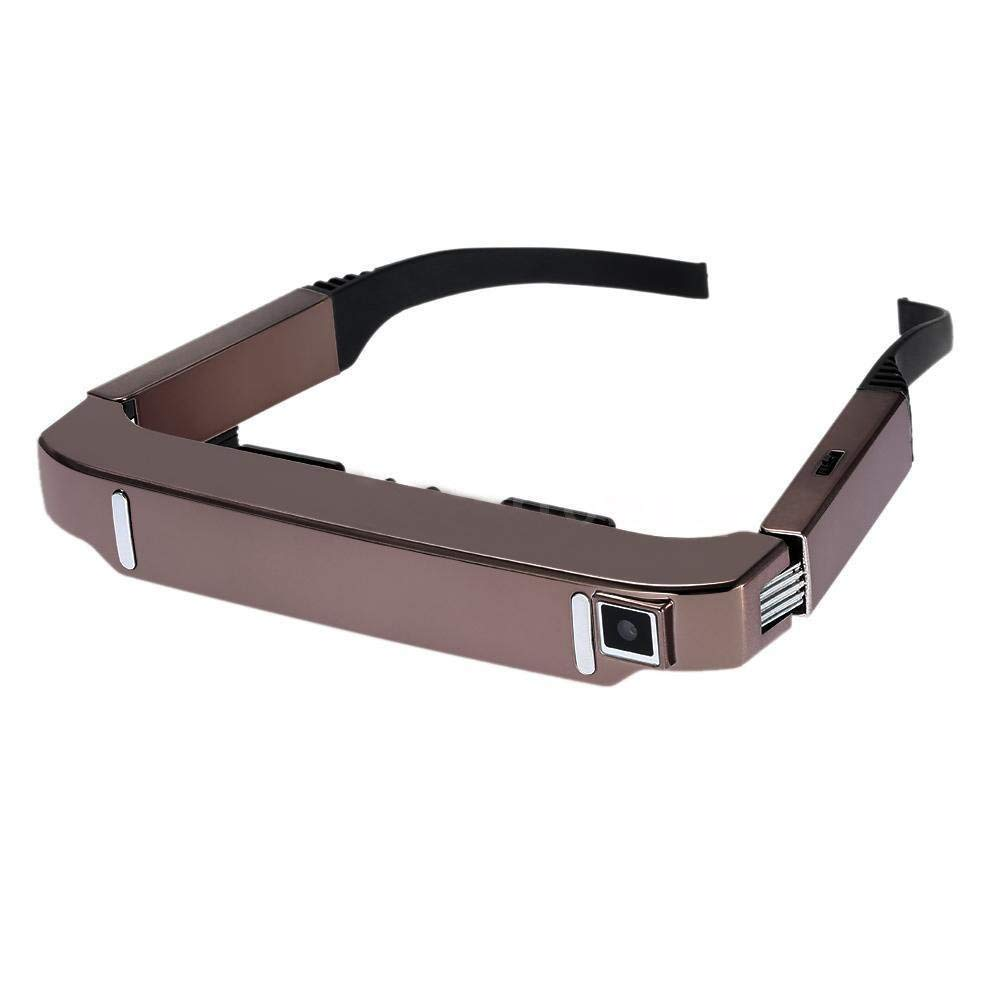 VISION 800 Smart Android WiFi Glasses 80 inch Wide Screen Portable Video 3D Glasses Private Theater with Camera Bluetooth Medi - 4