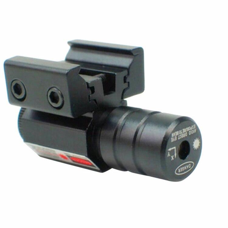 Spike JG5-1 Tactical Pistol mini 5mw adjustable mira red dot laser sight for 11mm 20mm dovetail for hunting gun Picardine rail
