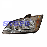 2Pcs/Pair Left and Right Front Headlight Headlamp Head Light Lamp For Ford Focus 2005 2008 Year